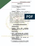Sentencia Amparo Indirecto 1118-2018 1o. Distrito Penal