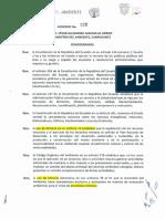 Acuerdo Ministerial 020 - Reforma Al 009