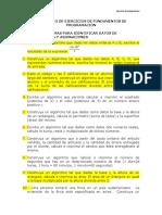Compendio de Ejercicios de Programacin-1