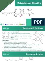 Bioquímica - Metabolismo da Bilirrubina