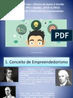 Perfil e potencial do empreendedor