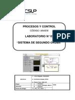 Laboratorio 03 Sistema de Segundo Orden