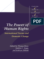 The Power of Human Rights - International Norms and Domestic Change - Risse, Ropp &Sikkink - (1999)