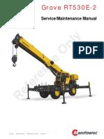 Grove Service Manual RT530E 2 CTRL556 00