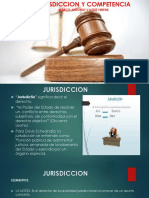 (4) Jurisdiccion y Competencia