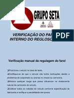 Informativo Verificação Regloscopio