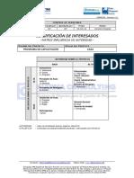 EGPR_330_06 - Clasificación de Interesados - Matriz Influencia vs Autoridad