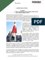 09-09-19 Presiden Sidur y Cecop honores a la bandera de México.