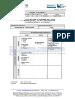 EGPR_332_06 - Clasificación de Interesados - Matriz Interes vs Autoridad