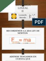 DINÁMICA LINEAL2DO