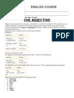 Adjective Unac 2019b