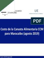 Estudio CCM Agosto 2019