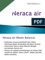 Pertm. 2 Neraca Air