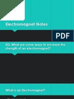 electromagnet notes