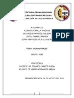 Trabajo Escrito Salud Pública (Signos Vitales).