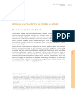 Memory as Practices in Digital Culture Dmartins Jmurilo