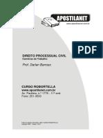 Apostila. Direito Processual Civil Darla