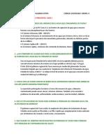 Cuestionario 1 de estudio de impacto ambiental