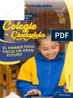 Inscripciones Colegio Ciudadela 2020