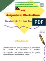 Clase 01 Generalidades de Olericultura