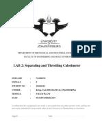 Separating and Throttling Calorimeter