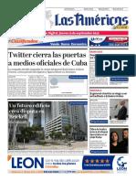 DIARIO LAS AMÉRICAS Edición digital del jueves 12 de septiembre de 2019