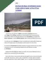 Inundaciones por las lluvias torrenciales en Caudete