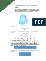 Demostraciones de Las Fórmulas de Trabajo y Energía Respecto a Un Punto