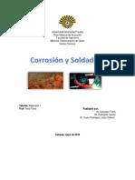 Trabajo de Corrosion y Soldadura