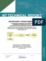 25 NT TR 604 Uncertainty From Sampling a NORDTEST Handbook