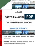 Portos e Hidrovias - Aula 02 (Porto e Ancoradouro - 2013)