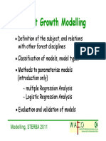 Forest Growth Models