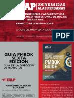 Analisis Pmbok Sexta Edicion