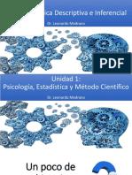 Clase Psicologìa, Ciencia y Estadística