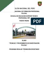 Silabo de Tecnicas de Inv. Espartanos - 2019 6