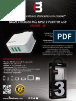 MANUAL DE CARGADOR USB