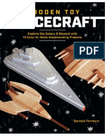 Wooden Toy Space Crafts