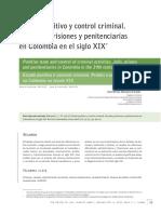 Estado Punitivo y Control Criminal. Cárceles, Prisiones y Penitenciarías en Colombia en El Siglo XIX.