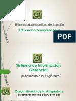 Presentación Sistema de Información General