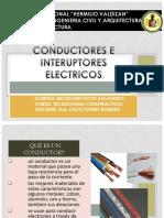 Conductores e Interuptores Electricos