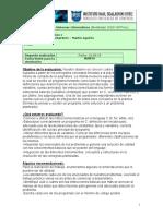 Programacion I - Segunda Evaluación - 2019