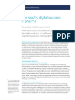 THE ROAD TO DIGITAL SUCCES IN PHARMA