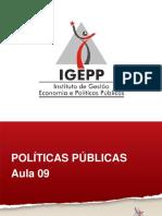 Videoaula 9.6-Restricoes e Instrumentos de Implementacao de Politicas Publicas