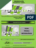 Estudio de Campo Hercon Septiembre 2019