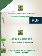 Presentación Lengua Castellana