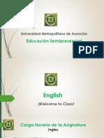 Presentación Ingles