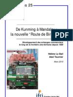De Kunming a Mandalay