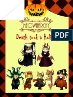 Meownarchy Card Game Death Took a Holiday