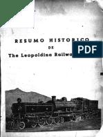 Resumo Histórico da Estrada De Ferro Leopoldina Railway