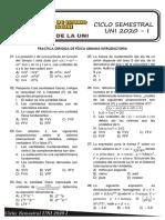 practica introductoria de fisica ciclo semestral uni